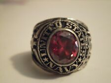 US Navy Ring size 8 1/4 lot A