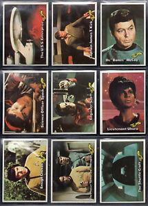 Star Trek Topps Trading Card & Sticker Set #1-87, #1-22 Complete!   NM  1976