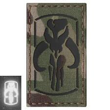 Star Wars Mandalorian infrared IR multicam morale laser cut hook patch