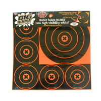 NEW! Birchwood Casey Big Burst 8-Inch and 4-Inch Bull's-Eye, 3 - 8-Inch an 36818