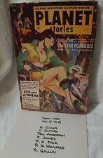 PHILIP K. DICK The Gun, PLANET STORIES, SEPTEMBER 1952