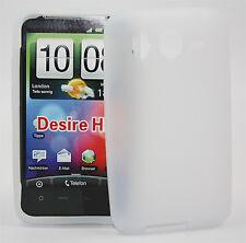 Silikon Case für HTC Desire HD weiß Etui Hülle Bag Skin Silikon Cover Case