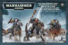 Warhammer 40k: Space Wolves Thunderwolf Cavalry