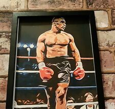 Iron Mike Tyson Boxing world boxing champion Print free post