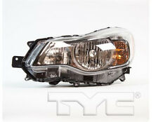 TYC NSF Left Side Halogen Headlight Assy For Subaru Impreza 2012-2014 Models