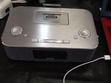 Philips Docking / Clock System for Ipod/Iphone/Ipad Model DC291/37 No Remote