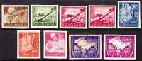 Stamp Germany India Selection 1943 WWII Fascism Azad Hind Legion Set Imper MNG