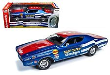 AUTO WORLD 1:18 THE ROD SHOP - 1971 DODGE CHARGER SUPER BEE Diecast Car