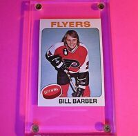 1975-76 Topps Hockey #226 Bill Barber MINT Beautiful! Centered & Sharp