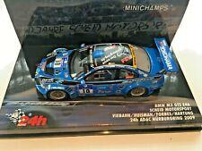 1:43 BMW M3 GTS E46  24h NURBURGRING 2009   MINICHAMPS  437092810
