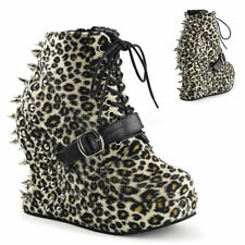 High (3 in. and Up) Animal Print Casual Shoes for Women