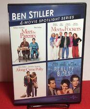 Ben Stiller: 4-Movie Spotlight Series (DVD, 2013, 2-Disc Set)Free Shipping