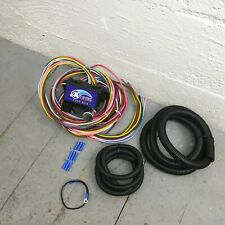 Wire Harness Fuse Block Upgrade Kit for 46-54 Willys Truck rat rod hot rod