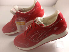 Men's ASICS GEL RESPECTOR SZ 9 walking athletic shoes red white NWOB