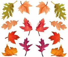 ~ Photoessence Fally Leaves Leaf Autumn Oak Orange Leave Mrs Grossman Stickers ~