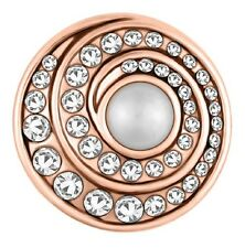 Snaps Jewelry Rose Gold Twirl Pearl Sn31-48 Buy 4 Get 5Th $6.95 Snap Free Ginger