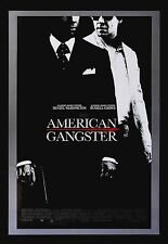 AMERICAN GANGSTER * CineMasterpieces 1SH ORIGINAL MOVIE POSTER DENZEL WASHINGTON