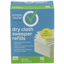 Dry Cloth sweeper refills, 16 cloths