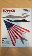 1/48 Cutting Edge F-117A U.S. Flag Scheme black magic vinyl masks and decals