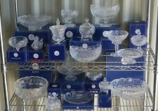 Royal Crest Crystal Clear Collectibles Trinket Boxes Trays Bowls Dishes Gifts