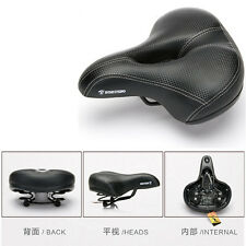 Mountian MTB Bike Bicycle Saddle Pro Road PU Leather Center Hollow Cycling Seat