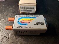 ALLIED TELESIS TELESYN AT-MX26F Ethernet FIBER OPTIC TRANSCEIVER CENTRECOM MX26F