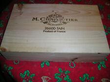 CBO Vide : M. CHAPOUTIER - caisse de 6 b.