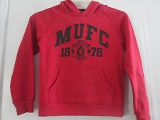 Manchester United Leisure Hooded Football Jumper Childrens 10-11 years /41089