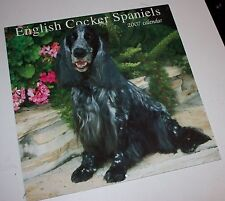 English Cocker Spaniels Wall Calendar 2007 Dogs Vintage