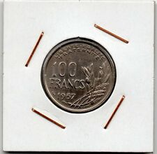 France : 100 Francs 1957 VF+ ( rare )