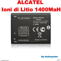 BATTERIA 1400Mah RICAMBIO PER ALCATEL ONE TOUCH OT M'POP 5020D 5020 tli014a1