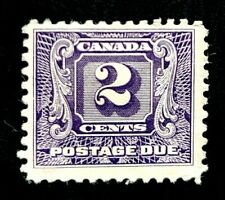 1930 Canada Postage Due Stamp J7 2c Mint MNG H