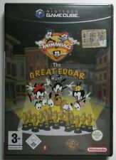 Pal version Nintendo GameCube Animaniacs the Great Edgar Hunt