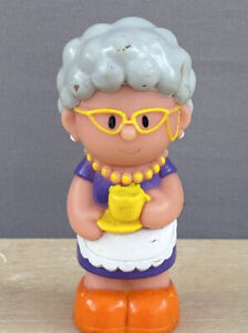 ELC Happyland Grandma Old Lady Cup Of Tea Spare Cake Topper