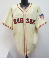 BOSTON RED SOX TED WILLIAMS 1942 CREAM 2XL VINTAGE JERSEY EMPIRE SPORTING GOODS