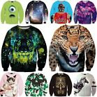 Fashion Women's Men's 3D Graphic Printed Hoodies Sweatshirt Pullover Jumper Tops