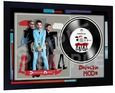 Depeche Mode Spirit SIGNED FRAMED PHOTO PRINT AND Mini LP Perfect Gift