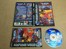 X-MEN Children of the Atom - SEGA Saturn (TESTED/WORKING) UK PAL