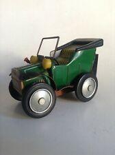 Ancienne voiture en métal à friction Tin toy