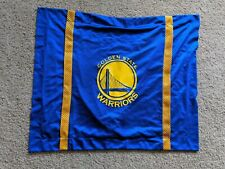 GOLDEN STATE WARRIORS blue & yellow decorative pillow case - Steph Curry, Klay