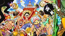 Poster 42x24 cm One Piece Luffy Zoro Franky Chopper Mugiwaras Nakamas 16