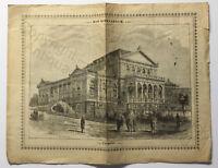 Orig Prospekt Bad Schwalbach um 1880 Kurstadt Rheingau-Taunus Hessen Broschüre