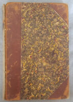 Antique THE BOTANIC GARDEN & TEMPLE OF NATURE by Erasmus Darwin LEATHER Plates