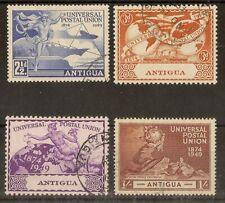 (C) Antigua 1949 UPU Fine Used Set