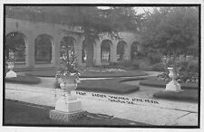 Real Photo Postcard Front Garden Wisconsin State Prison Waupun, Wisconsin~109679