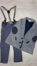 Baby Trousers and Jacket 9-12mths - wedding etc