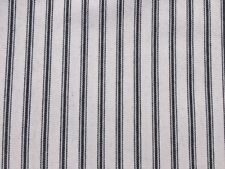 Black And White Striped Fabric Cotton For Sale Ebay