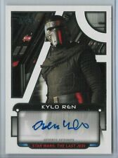 New Listing2018 Star Wars Galactic Files White Auto Kylo Ren Adam Driver 2/5 Autograph