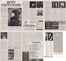 BUFFY SAINTE-MARIE : CUTTINGS COLLECTION -interview-