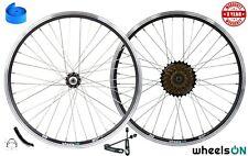 QR 20 inch wheelsON Front Wheel Rear Wheel Folding Bike Kids Bike V-Brakes 36H